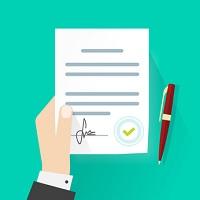 Dienstleistungsvertrag Seniorenbetreuung